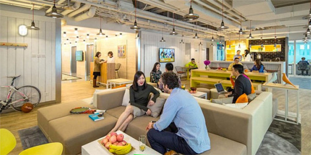 Beijing coworking spaces: UR Work