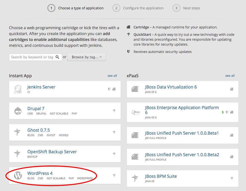 openshift-select-wp